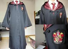 Harry Potter Adult Gryffindor/Slytherin/Hufflepuff Robe Cloak Cape Costumes