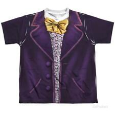Youth: Willy Wonka And The Chocolate Factory- Wonka Costume Tee Kids T-Shirt
