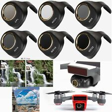 6pcs MCUV ND4 ND8 ND16 ND32 CPL HD Camera Lens Filters For DJI Spark Drone NEW
