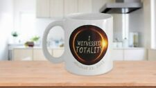 Total solar eclipse - I witnessed totality - Commemorative Coffee Mug