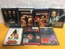 Select from (7) Misc DVD Movies, Various well known Titles.