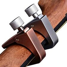 GUITAR CAPO Trigger Capo Clamp Single-handed Acoustic Electric  Ukulele Silver