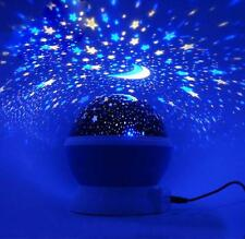 Star light LED Starry Night Sky Projector Lamp Cosmos Master Kids Gift