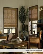 """Woven Wood Roman Shades, 24 to 26 Inches Wide, Any size from 18""""-72"""" Wide"""