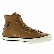 Converse Chuck Taylor All Star Hi Chipmunck Youth Leather Hi-top Trainers