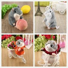 Mimicry Pet Speak Talking Record Hamster Mouse Plush Kids Toy Best Gift OE