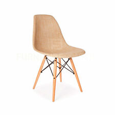 Eames Style Mid Century Modern Special Edition Wood Leg WEAVE DSW Dining Chair