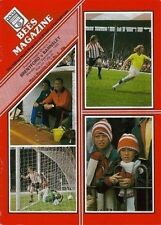 PROGRAMME Brentford Football Club Home Game Programmes - VARIOUS