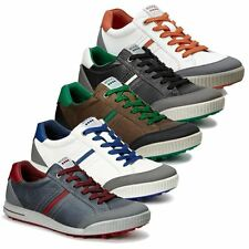 ECCO  Street Retro Spikeless Waterproof-Leather Hydromax  Mens Golf Shoes 2015