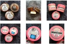 // THE BODY SHOP BODY BUTTER, BODY SCRUB  // SOAP AND GLORY THE RIGHTEOUS BUTTER