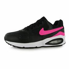 Nike Air Max ST Running Trainers Junior Girls Black/Pink Sports Shoes Sneakers