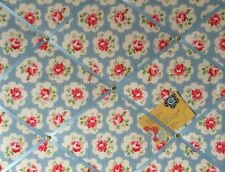 Cath Kidston Blue Provence Rose Hand Crafted Fabric Notice Pin Memo Memory Board