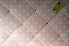 Cath Kidston Pink Spot Hand Crafted Fabric Notice / Pin / Memo / Memory Board
