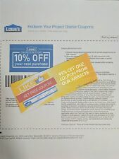 One 99% off Coupon on CouponsInstantly.com - Save on Lowes 10% Off Coupons