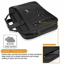 "16"" 15.6"" Laptop Bag Carrying Sleeve Case Computer Shoulder Bag Handbag for Dell"