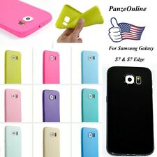 TPU Rubber Ultra Slim Soft Gel Skin Cover Back Case Cover For Samsung Galaxy S6