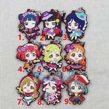 T459 Hot Anime Lovelive Love Live! rubber Keychain Key Ring Rare straps Cosplay