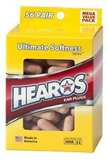 New Hearos Ultimate Softness Ear Plugs (NRR 32) (56 Pairs)