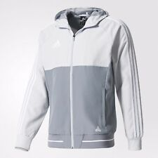 ADIDAS TANGO CAGE WOVEN JACKET TRAINING SOCCER Clear Grey/White.