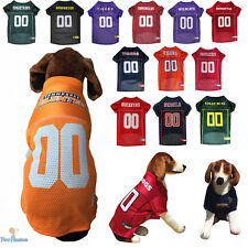 NCAA Pet Fan Gear Dog Jersey Shirt for Dogs PICK YOUR TEAM BIG SIZE XS-2XL