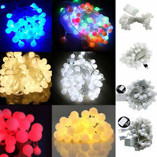 20-100LEDs Fairy String Light Ball Lamp Holiday Wedding Party Outdoor Home Decor