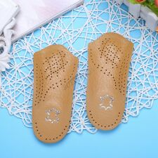 Orthotic 3/4 Arch Support Pad Comfortable Shoes Insoles Inserts Flat Foot Unisex