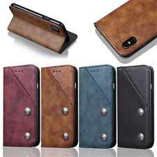 Magnetic Flip PU Leather Wallet Card Holder Case Cover For iPhone 8 7 6S 7 Plus