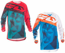 Fly Racing Mens & Youth Kinetic Mesh Crux Dirt Bike Jersey MX ATV Offroad 2018