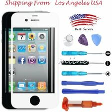 GLUE Front Screen Glass Lens Repair Replacement for Apple iPhone 4/4G /4S /Tools