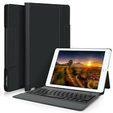 Integrated Bluetooth Keyboard Leather Case with Stand for iPad Pro 10.5 (2017)