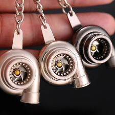 Creative Turbo Pressure Booster Shape Key Chains Key Ring Christmas Gift for Men