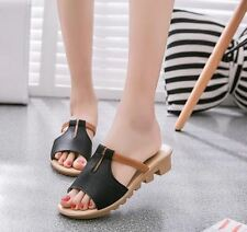 Women Casual New Fashion Breathable Pink Color Slide Cut Sandals