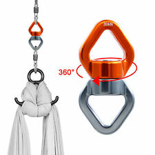 30kN Safest Swivel Connector 360 Rotational Device Heavy Duty Rope Swing Spinner