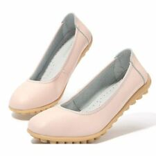Pu Leather Soft Ballet Flats Non Slip On Casual Flat For Women PN544