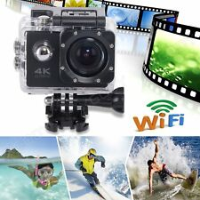 New HD 4K WiFi Waterpoof Sports Camera Action Helmet Camcorder DV Video Dash Cam