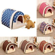 US Pets Products Dog Cat Bed House Puppy Cushion Washable Kennel Mat Soft Pads