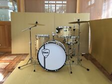 New Peace X4 Drum Set with Vintage Style Hardware Pack and Drum Throne - Video!