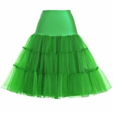 New Fashion High Waist Pleated Solid Color Vintage Skirt For Women