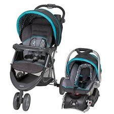 Infant Car Seat Stroller Baby Travel System Safety Harnesses Hounds Tooth New