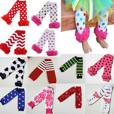Cute Baby Boys Girl Legging Socks Infant Toddler Ruffle Kids Leg Warmers Pants