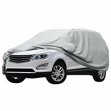 Waterproof Windproof Car Cover Scratch Resistant Sun Outdoor UV Protection 210''