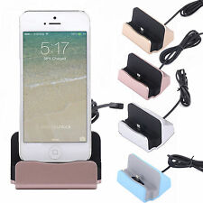 Desktop Charger DOCKING STATION Sync Charge Stand Cradle for iPhone 6s 6 Samsung