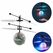 Flash Flying Ball Infrared Induction LED Disco RC Helicopter kids Toy LOT XP