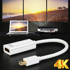 4K*2K HDTV Mini DP DisplayPort to HDMI Converter Adapter For MacBook Mac Pro Air