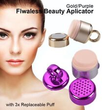 Cosmetic 3D Electric Vibrating Makeup Flawless Face Foundation Applicator 3 Puff