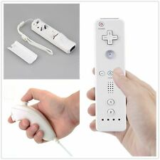 White Remote Wiimote Nunchuck Controller Set Combo for Nintendo Wii Game WG