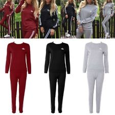 Spring Autumn Fashion 2 pcs Long Sleeve Tops+Pants Women Sports Suit