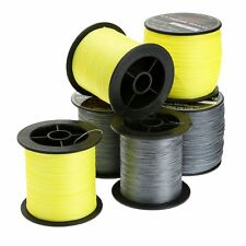 Grey / Yellow 300 / 500M Dyneema Spectra Extreme Braided Saltwater Fishing Line