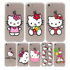 Cute Hello Kitty Hard Plastic Case For iPhone