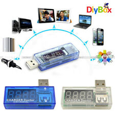 Battery Tester USB Charger Doctor Capacity Time Current Voltage Detector Meter